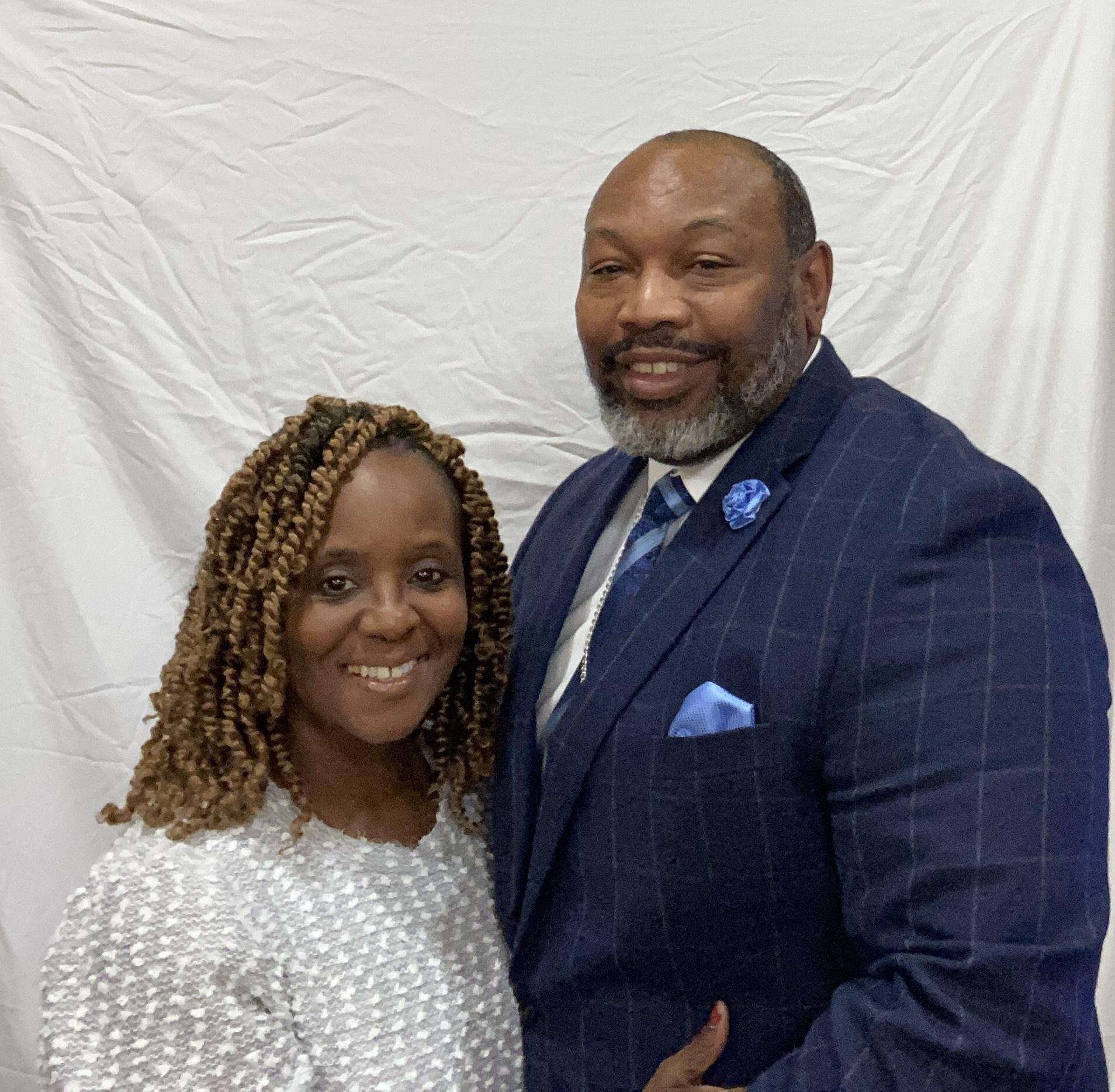 Apostle Thomas & Co-Pastor Simone Keys